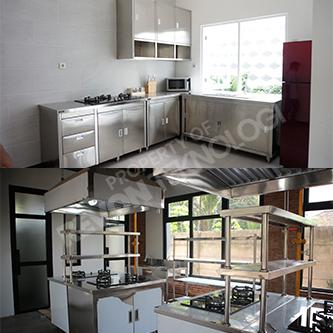 Kitchen Set Stainless Steel Revon